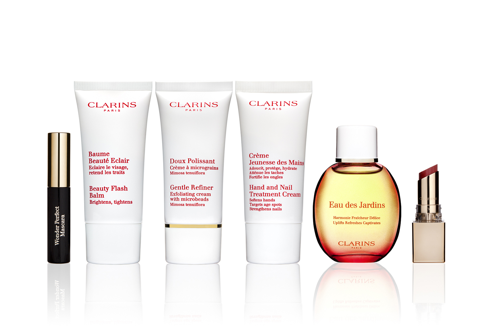 Clarins Products Line Up-Kar
