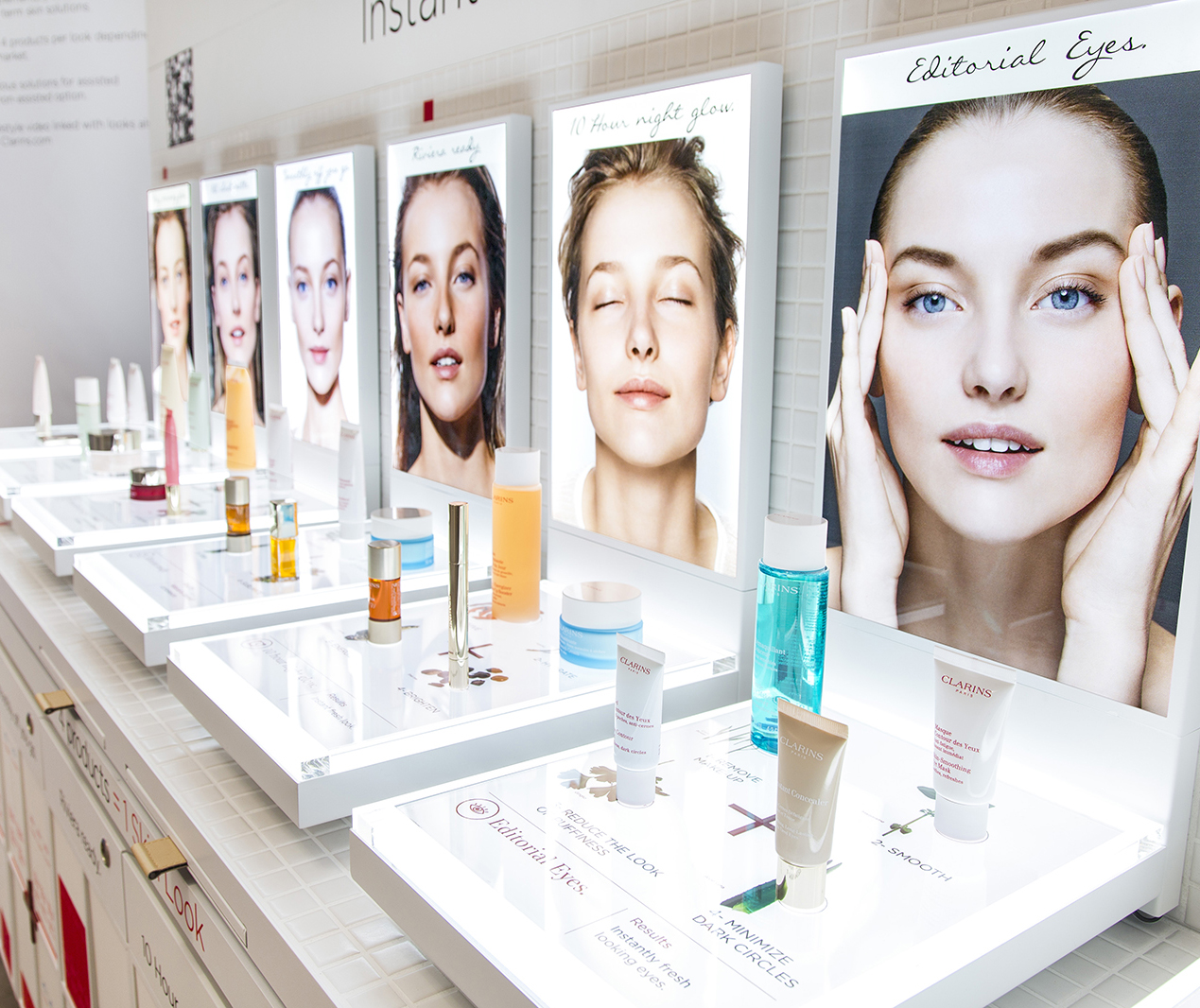 Clarins Paris: Event